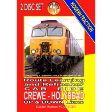 Crewe to Holyhead Cab Ride DVD