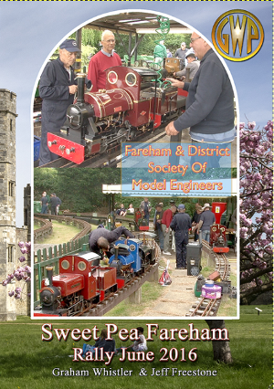 Sweet Pea Fareham Rally June 2016 DVD